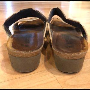 Naot Shoes - Naot 38 gold sandals